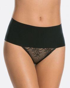 Undietectable Lace Thong - Black - S Sexy Lingerie, Women Lingerie, Women's Briefs, Boxer Briefs, Mens Measurements, Black Fishnets, Faux Leather Leggings, Spanx, Summer Dresses For Women