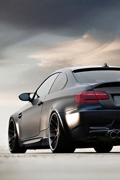BMW M3-Flat black is where it's at