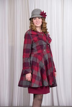 I would TOTALLY rock this coat! #plus size fashion