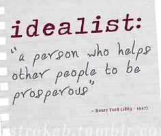 #IDEALIST #prosperity