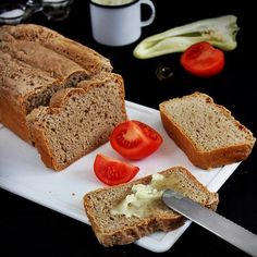 Házi rozskenyér How To Make Bread, Food Styling, Banana Bread, French Toast, Clean Eating, Food And Drink, Breakfast, Desserts, Recipes