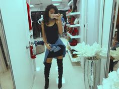 Malu Trevejo Outfits, Dope Outfits, Fashion Outfits, Really Cute Outfits, Boho Fashion, Womens Fashion, Celebs, Celebrities, Girls Night Out