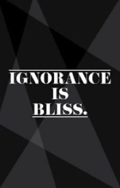 Ignorance IS Bliss, now posted on wattpad for bully victims and bullies themselves.