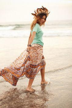 Spell castaway skirt