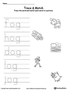 This OG Word Family Workbook for Kindergarten includes a variety of printable worksheets. Children will practice recognizing words with the same ending . Alphabet Tracing Worksheets, Kindergarten Worksheets, Printable Worksheets, Writing Practice, Writing Skills, Family Worksheet, Phonics Reading, Short Words, Baby Learning