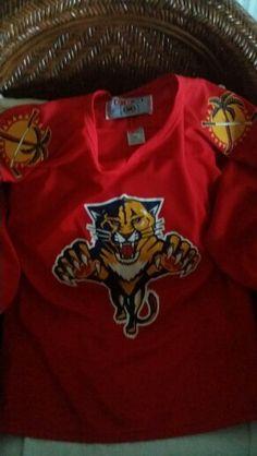 Florida Panthers Hockey NHL Jersey #florida #nhl #hockey #panthers