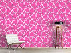 Design #Tapete Herz Für Sie Und Ihn