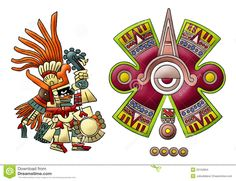 Our bodies absorb energy to propel our bodies to move, function, and think. Energy comes in different forms to benefit the planet. Aztec Symbols, Sun Illustration, Illustrations, Aztec Warrior, Giddy Up Glamour, Aztec Art, Steam Punk Jewelry, Mesoamerican, Inca