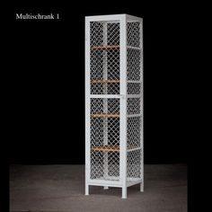 Fresh Multicabinet with a marvelous mesh design Wine lovers unite