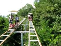 The SkyCycle In Japan Is One Of The World's Scariest Theme Park Rides