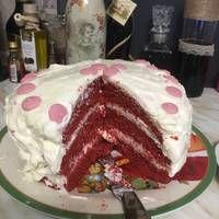 Red Velvet Κέικ (Κέικ Κόκκινο Βελούδο) Pancakes, Breakfast, Desserts, Food, Morning Coffee, Tailgate Desserts, Deserts, Essen, Pancake