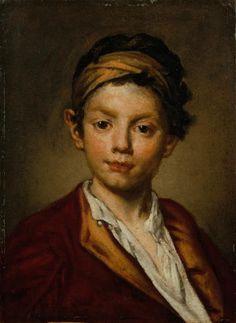 Fra' Galgario (Vittore Ghislandi detto) - Ritratto di giovinetto - 1730 - Accademia Carrara di Bergamo Pinacoteca