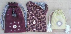 Tarot bag pattern