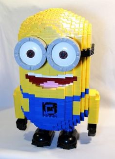 Despicable Me Minion: A LEGO® creation by Matthew Thomson : MOCpages.com