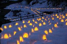 湯西川温泉 かまくら祭写真