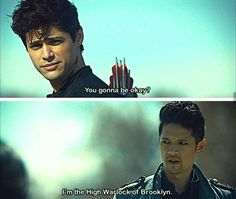 "#Shadowhunters 2x20 ""Beside Still Water"" - Alec and Magnus"