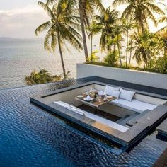 Inspiring Architecture Conrad Koh Samui, Tayland Dream Home Remodeling: Is It Really a Dream? Swimming Pool Designs, Swimming Pools, Beautiful Homes, Beautiful Places, Beautiful Sunset, Luxury Pools, Luxury Cars, Dream Pools, Outdoor Pool