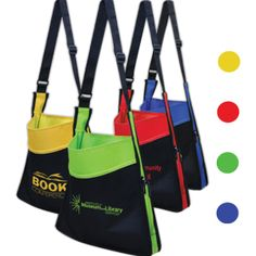 Messenger Tote Bag, available from QualiT!