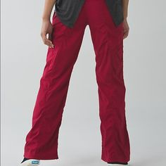 Lululemon Dance Studio Pant Cranberry 8 Regular New with tags! lululemon athletica Pants Track Pants & Joggers