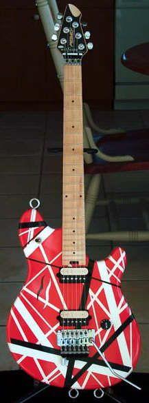 Edward Van Halen's Guitars