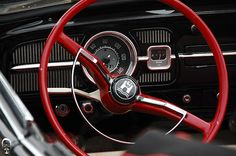 VW Beetle interior