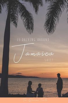 Jamaica has a reputation for being dangerous! The beautiful island is bigger than you'd think. Driving around to see Montego Bay, Ocho Rios, Negril or Port Antonio, different waterfalls and beaches requires a car. But is it safe to drive? We spent a month driving the whole island. Find out what we learnt. | #jamaica #traveltips #safetravel