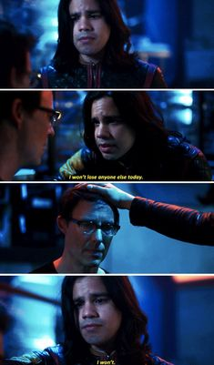 Cisco and Harry were too cute for me in this episode. the friendship they share is just so good! Supergirl 2015, Supergirl And Flash, Dc Tv Shows, Movies And Tv Shows, The Flash Cisco, Flash Season 4, Red Band Society, Snowbarry, Grey Anatomy Quotes