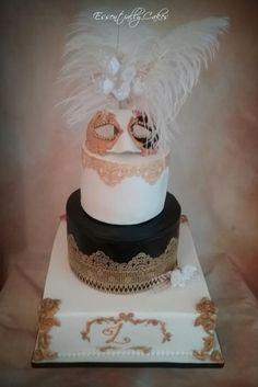 Masquerade  - Cake by Essentially Cakes