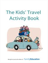 FREE Kids' Travel Activity Book Great going away gift for kids friends or for our own world of frequent moves and road trips. Kids Travel Activities, Kids Learning Activities, Summer Activities, Family Activities, Word Puzzles For Kids, Fun Arts And Crafts, Car Travel, Travel Information, Travel With Kids