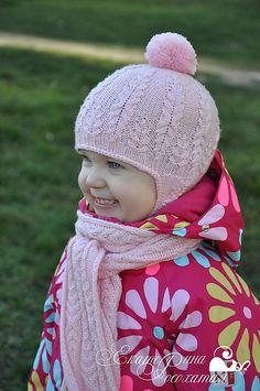 Ravelry: KateRosohataya's Fern Field Hat with earflaps