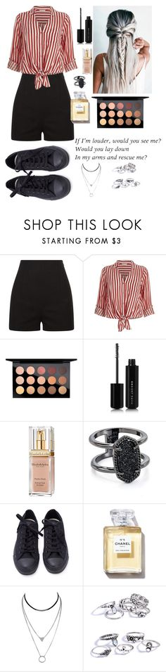 """Untitled #105"" by silviamachado20 on Polyvore featuring River Island, MAC Cosmetics, Marc Jacobs, Elizabeth Arden and Kendra Scott"