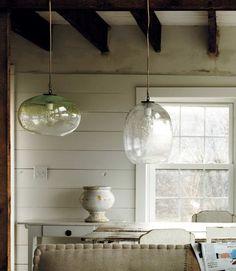 K Kitchens Ludlow Industrial Pendant, Glass - contemporary - pendant lighting - West Elm ...