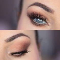 Ela Lis Make-Up: Brown Matte Makeup - Makijaż w brązach Matte Makeup, Brown Makeup, Smokey Eye, Eyeliner, Make Up, Jewelry, Jewlery, Jewerly, Schmuck