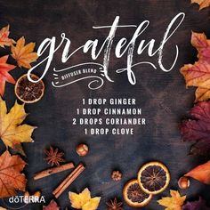 doTERRA Coriander Essential Oil Uses with Recipes - Best Essential Oils Essential Oils For Nausea, Ginger Essential Oil, Essential Oil Uses, Essential Oil Diffuser Blends, Doterra Diffuser, Aromatherapy Diffuser, Aroma Diffuser, Doterra Essential Oils, Young Living