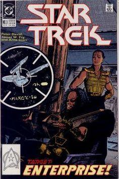 Vintage Star Trek The Original Series Comic Book No 3 December 1989 DC Comics Star Trek Books, Star Trek Tv, Star Wars, Star Trek Original Series, Star Trek Series, Comic Book Covers, Comic Books, Canal 13, Star Trek Images
