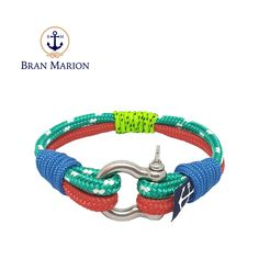 Paine Nautical Bracelet by Bran Marion Nautical Bracelet, Nautical Jewelry, Marine Rope, Captain Hook, Everyday Look, Anklet, Handmade Bracelets, Jewelry Collection, Sailor