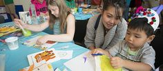 KidsQuest Children's Museum in Bellevue, Washington offers family-friendly fun.