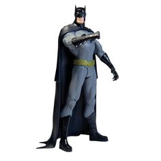 This revamped Batman from Geoff Johns and Jim Lee's Justice League is leading the way. The New 52 Batman action figure, standing 6 inches tall, is wearing a unique take on the classic costume while still putting fear into the heart of criminals everywhere Justice League New 52, Justice League Action Figures, Batman Action Figures, Dc Comics, Batman Comics, Batman Batman, Batman Stuff, Comics Girls, Jim Lee Batman