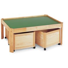 Pin Play Table with Drawer