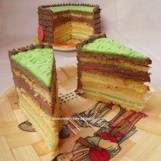 """teller-cake: Japán torta a """"Dobos alapúak közül"""" - Flórának :) Florida, Cookies, Cake, Desserts, Food, Japanese Kitchen, Kuchen, Treats, Hungary"""