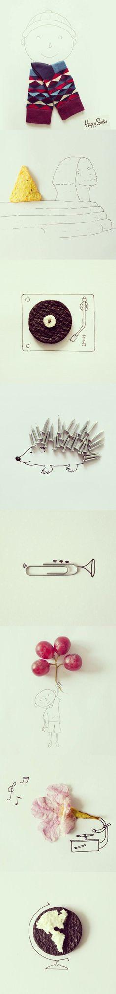 Imaginative Illustrations by Javier Pérez