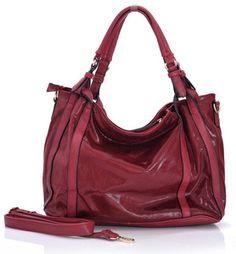 Efektowna torebka shopper bordo / red GRACE Rebecca Minkoff, Blog, Red, Fashion, Moda, Fashion Styles, Blogging, Fashion Illustrations