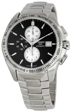Tissot Men's Veloci T Chronograph Black Dial Watch Sport Watches, Watches For Men, Unique Watches, Wrist Watches, Stainless Steel Bracelet, Stainless Steel Case, Luxury Watch Brands, Pre Owned Watches, Casio Watch
