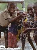 Water-so precious to these Kenyan children.
