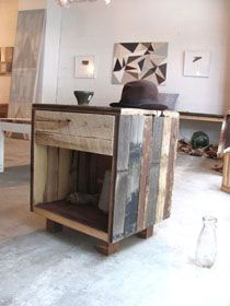 Awesome reclaimed wood furniture.