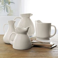 Pitchers   Crate and Barrel