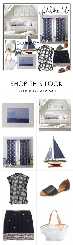 """""""August 24,2017"""" by anny951 ❤ liked on Polyvore featuring NOVICA, West Elm, Lala + Bash, American Vintage, Madewell, WALL and Betsey Johnson"""