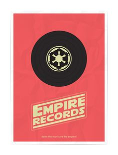 Empire Records Movie Mashup Poster