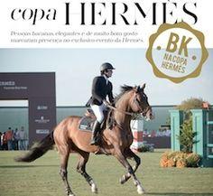 Hi Buddies, O BK esteve presente na segunda edição da Copa Hermès, quereuniu os melhores cavaleiros e amazonas brasileiros na Fazenda Boa Vista, município de Porto Feliz, a uma hora