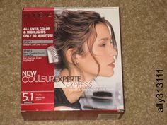 L'Oreal Paris, New Couleur Experte Express, Color & Highlights in 30mins. #LOral
